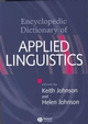The Encyclopedic Dictionary of Applied Linguistics: A Handbook for Language Teaching (0631214828) cover image