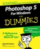 Photoshop 5 For Windows For Dummies  (0764503928) cover image