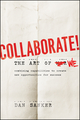 Collaborate: The Art of We (1118114728) cover image
