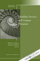 Disability and Campus Dynamics: New Directions for Higher Education, Number 154 (1118134028) cover image