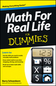 Math For Real Life For Dummies (1118453328) cover image
