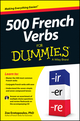 500 French Verbs For Dummies (1118516028) cover image