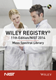 Wiley Registry 11th Edition / NIST 2014 Mass Spectral Library (DVD) (1119284228) cover image