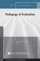 Pedagogy of Evaluation: New Directions for Evaluation, Number 155 (1119466628) cover image