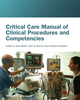 Critical Care Manual of Clinical Procedures and Competencies (1405122528) cover image