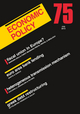 Economic Policy 75 (1444351028) cover image