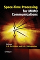 Space-Time Processing for MIMO Communications (0470010029) cover image
