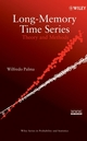 Long-Memory Time Series: Theory and Methods (0470114029) cover image