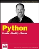 Python: Create - Modify - Reuse (0470259329) cover image