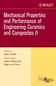 Mechanical Properties and Performance of Engineering Ceramics II: Ceramic Engineering and Science Proceedings, Volume 27, Issue 2 (0470291729) cover image