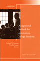 Occupational Outlook for Community College Students: New Directions for Community Colleges, Number 146 (0470537329) cover image