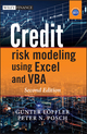 Credit Risk Modeling using Excel and VBA, 2nd Edition (0470660929) cover image
