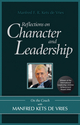 Reflections on Character and Leadership: On the Couch with Manfred Kets de Vries (0470742429) cover image