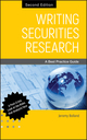 Writing Securities Research: A Best Practice Guide, 2nd Edition (0470826029) cover image