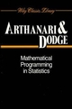 Mathematical Programming in Statistics (0471592129) cover image