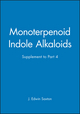 Monoterpenoid Indole Alkaloids, Supplement to Part 4 (0471951129) cover image