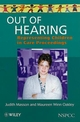 Out of Hearing: Representing Children in Court (0471986429) cover image