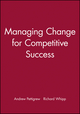 Managing Change for Competitive Success (0631191429) cover image