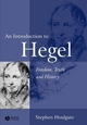 An Introduction to Hegel: Freedom, Truth and History, 2nd Edition (0631230629) cover image