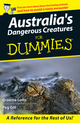 Australia's Dangerous Creatures For Dummies (0731407229) cover image