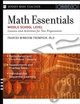 Math Essentials, Middle School Level: Lessons and Activities for Test Preparation (0787966029) cover image