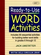 Ready-to-Use Word Activities: Unit 1, Includes 90 Sequential Activities for Building Better Word Skills in Grades 6 through 12 (0876284829) cover image
