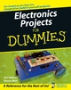 Electronics Projects For Dummies (1118044029) cover image