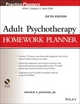 Adult Psychotherapy Homework Planner, 5th Edition (1118076729) cover image