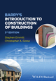 Barry's Introduction to Construction of Buildings, 3rd Edition (1118255429) cover image