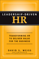 Leadership-Driven HR: Transforming HR to Deliver Value for the Business (1118362829) cover image