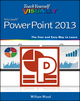 Teach Yourself VISUALLY PowerPoint 2013 (1118510429) cover image