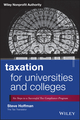 Taxation for Universities and Colleges: Six Steps to a Successful Tax Compliance Program (1118541529) cover image
