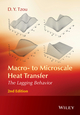 Macro- to Microscale Heat Transfer: The Lagging Behavior, 2nd Edition (1118818229) cover image