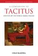 A Companion to Tacitus (1405190329) cover image