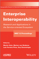 Enterprise Interoperability: Research and Applications in Service-oriented Ecosystem (Proceedings of the 5th International IFIP Working Conference IWIE 2013) (1848216629) cover image