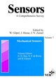 Sensors, A Comprehensive Survey, Volume 7, Mechanical Sensors (3527620729) cover image