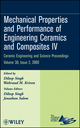 Mechanical Properties and Performance of Engineering Ceramics and Composites IV: Ceramic Engineering and Science Proceedings, Volume 30, Issue 2 (047045752X) cover image