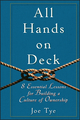 All Hands on Deck: 8 Essential Lessons for Building a Culture of Ownership (047059912X) cover image