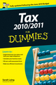 Tax 2010 / 2011 For Dummies, UK Edition (047066472X) cover image