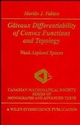 Gâteaux Differentiability of Convex Functions and Topology: Weak Asplund Spaces (047116822X) cover image