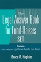 Legal Answer Book for Fund-Raisers Set, Set Contains: First and Second Legal Answer Books for Fund-Raisers� (047122622X) cover image