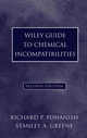 Wiley Guide to Chemical Incompatibilities, 2nd Edition (047172162X) cover image