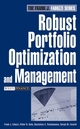 Robust Portfolio Optimization and Management (047192122X) cover image