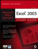 Microsoft Office Specialist: Excel 2003 Study Guide (047194002X) cover image