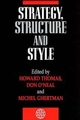 Strategy, Structure and Style (047196882X) cover image
