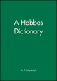 A Hobbes Dictionary (063119262X) cover image
