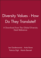 Diversity Values - How Do They Translate?: A Download from The Global Diversity Desk Reference (078797322X) cover image