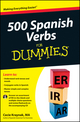 500 Spanish Verbs For Dummies, with CD (111802382X) cover image