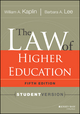 The Law of Higher Education, 5th Edition: Student Version (111803662X) cover image