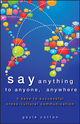Say Anything to Anyone, Anywhere: 5 Keys To Successful Cross-Cultural Communication (111842042X) cover image